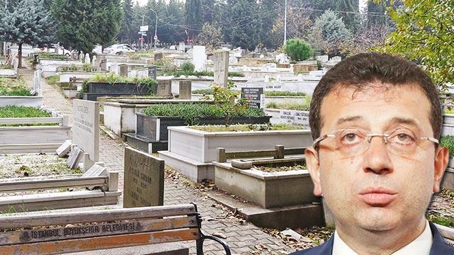 İmamoğlu mezar düzenlemelerini iptal etti