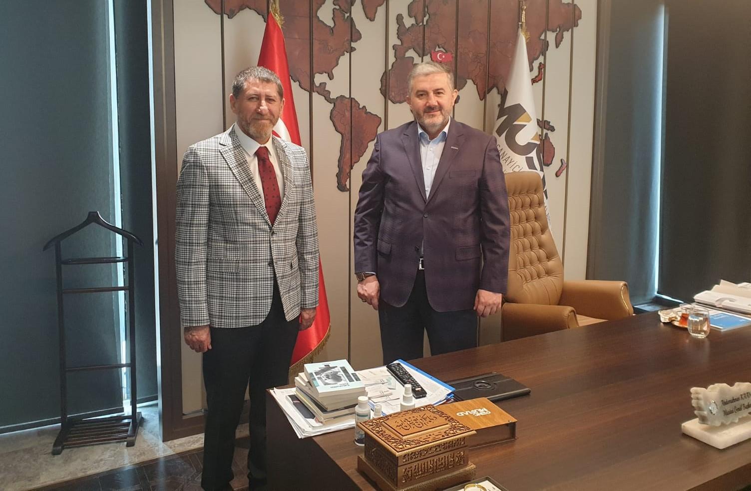 Gürbüz Süleymanoğlu MÜSİAD'IN Ardahan kurucu başkanı oldu