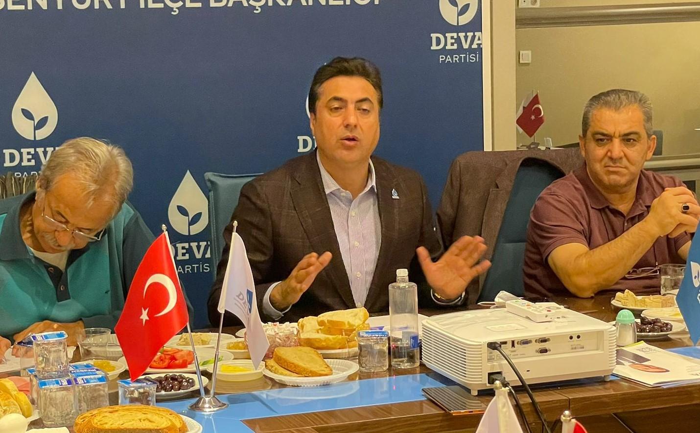 HALİS KAHRİMAN, ' İLÇE BİNAMIZI GENEL BAŞKANIMIZLA 10 EKİM'DE AÇIYORUZ'